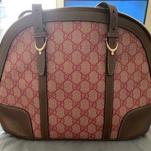 Gucci Bowler Handbag 100% Authentic